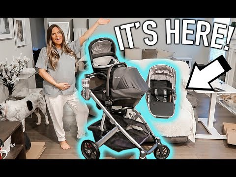 our-stroller-is-here!-unboxing-and-first-impression-|-casey-holmes-vlogs