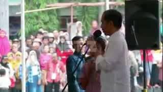 "Presiden jokowi di cilacap ""nyong kencot ""😀😀"
