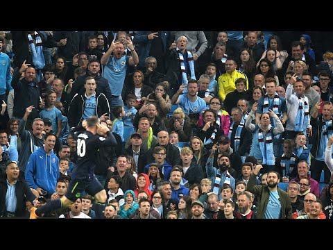 Wayne Rooney Scores At The Etihad | Everton Fans Reaction