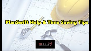 Red Rhino Electrical Estimating Software (PlanSwift Help & Time Saving Tips)