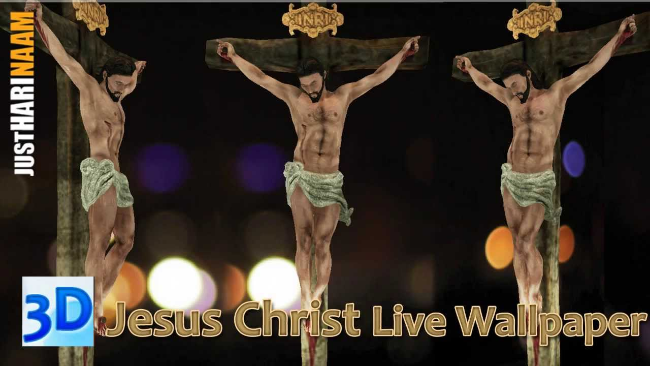 3D Jesus Christ Animated Live Wallpaper Free Android App