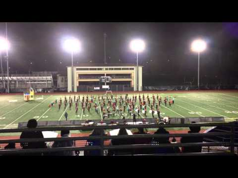Cascade High School Marching Band - PSOB Performance 2012 - Puget Sound Festival Of The Bands
