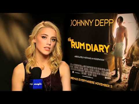 Jamie meets Johnny Depp & Amber Heard to talk The Rum Diary, Ricky Gervais & Orlando Bloom