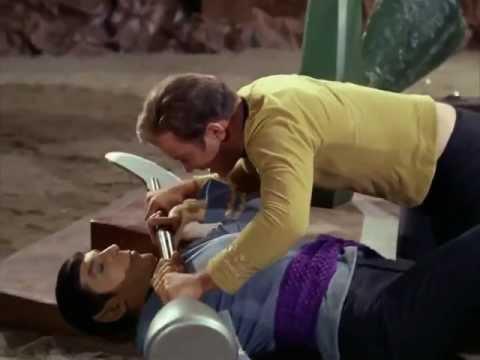 Captain Kirk Vs. Spock - High Quality