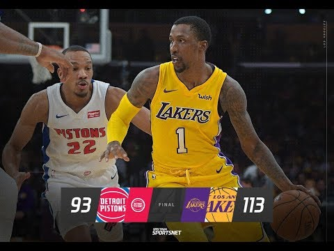 Lakers Get Impressive win vs the Red Hot Pistons?! Live with DTLF