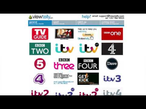 viewtelly.com Watch UK TV Online, Anywhere, Anytime FREE