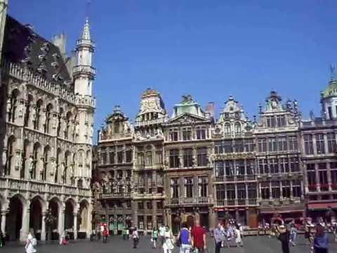 Grand place brussels bruxelles belgium youtube - Office de tourisme bruxelles grand place ...