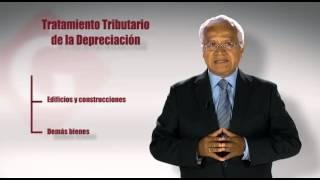 Tratamiento Tributario de la Depreciación
