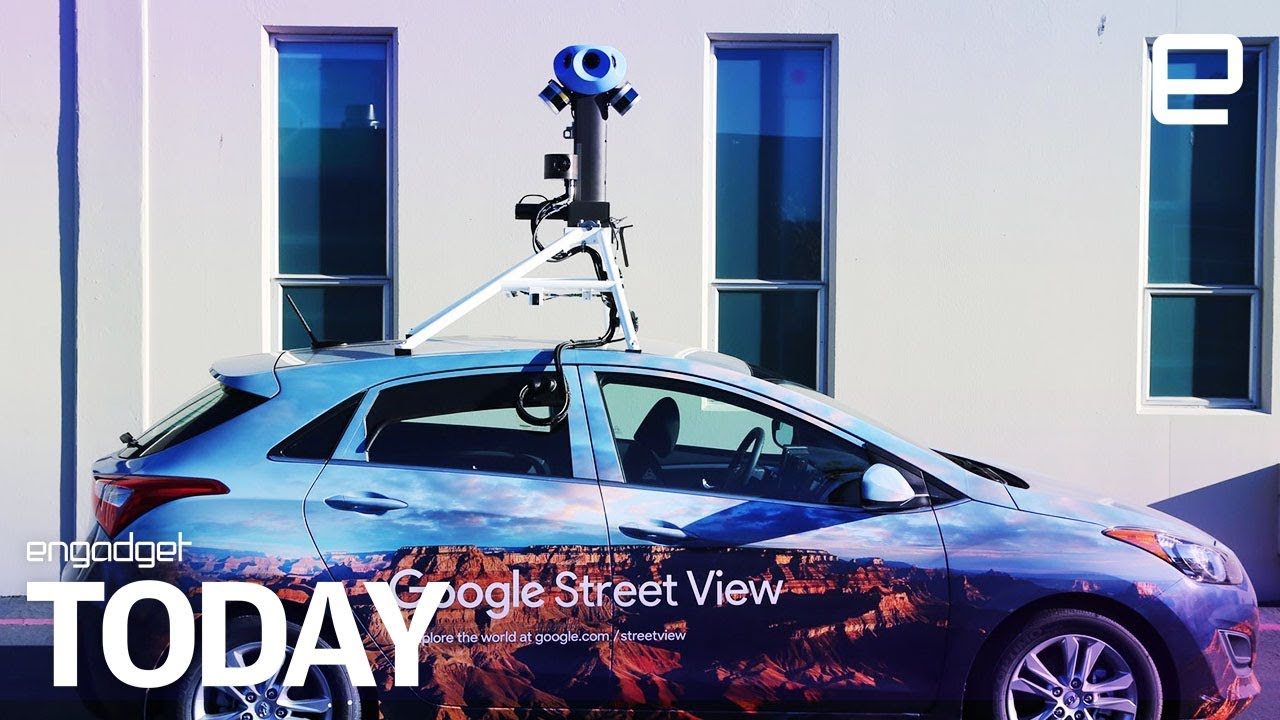 Google's new Street View camera rig will better map the world | Engadget  Today