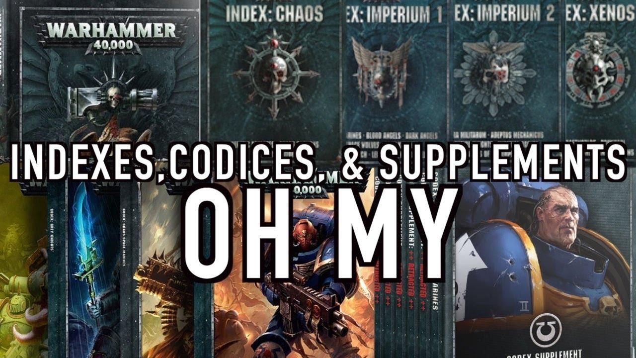 Too Many Rulebooks? Warhammer 40K