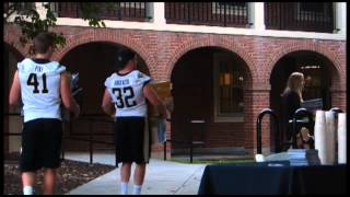 Students move into Wake Forest University