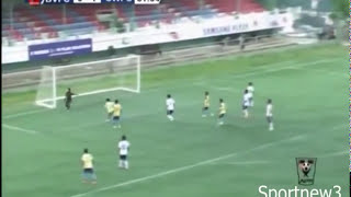 Indian footballer died during goal celebration_bethlehem vengthlang vs chanmari west 2-3 19.10.2014
