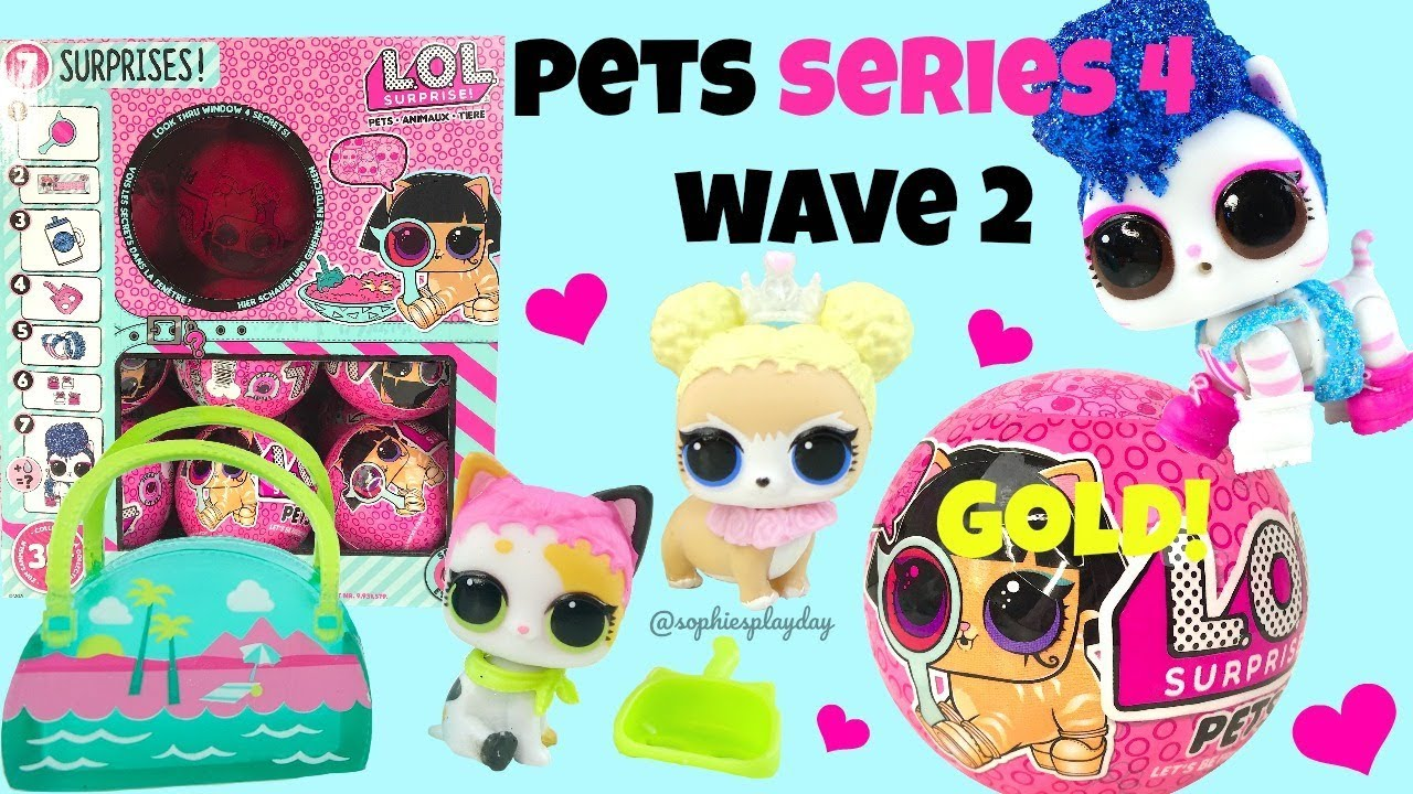 LOL Surprise Pets Series 3 wave 2 New 3 Pack