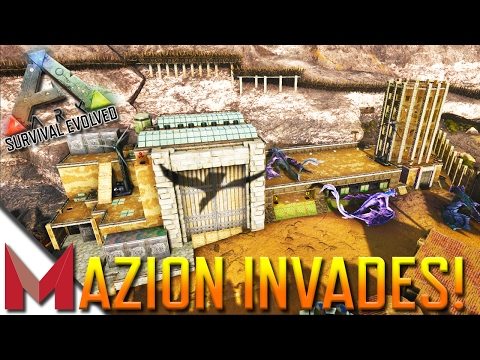 MAZION INVADES EUROPEAN SERVERS! -=- ARK: SURVIVAL EVOLVED GAMEPLAY -=- Ep13