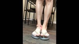 Cute Shoe Depot   Jelly Flip Flop Walk