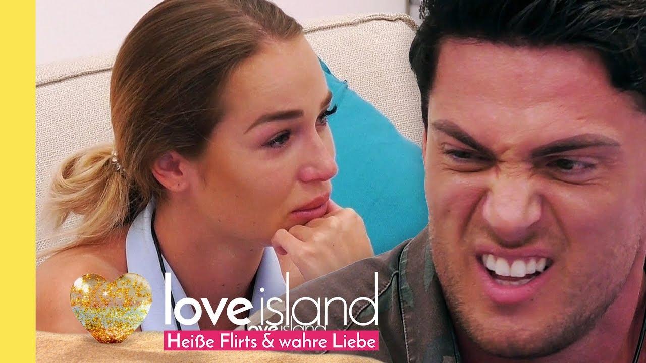 Bei Sebastian Und Jessica Hängt Der Haussegen Schief Love Island
