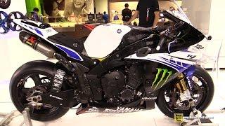 2014 Yamaha YZF-R1 Racing Bike -Customized by RotoCox - Walkaround - 2014 EICMA Milan