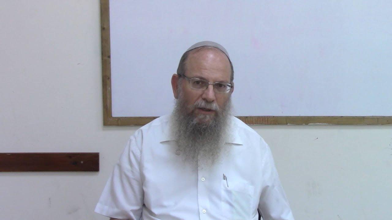 הקישור לארץ ישראל - דגל ירושלים - הרב אברהם וסרמן