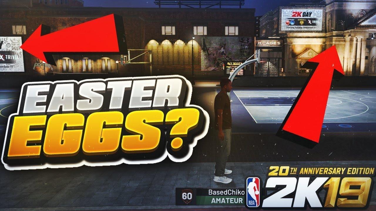 NBA 2K19 NEIGHBORHOOD TOUR WALK THRU   SEARCHING FOR EASTER EGGS ... 661192d3f