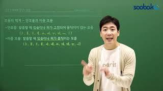 [중등인강/중3 국어] 모음의 체계 - 수박씨닷컴 임원…
