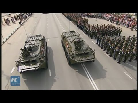 RAW: Russia's Yuzhno-Sakhalinsk commemorates 70 years since liberation from Japanese invaders