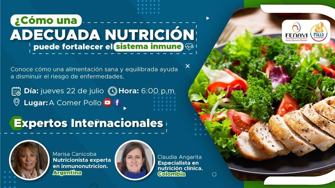 Nutrición Para El Sistema Inmune | A Comer Pollo | Live
