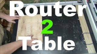 Router Table Tablesaw Extension - Diy Router Table Pt 2