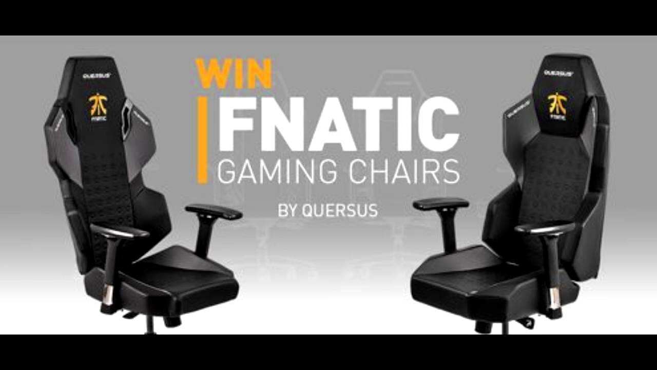 Chairs Giveaway Fnatic Gaming Sillas Sorteo EWDH29YI
