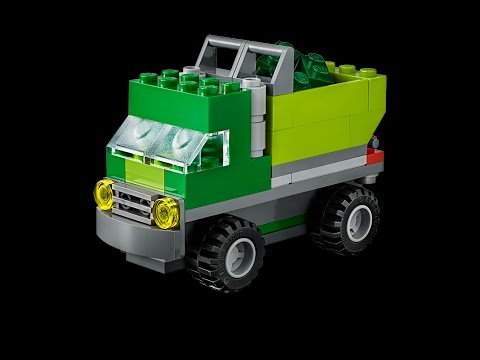 Garbage Truck How To Build Lego Classic 10704 Youtube