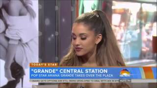 Ariana Grande Today Show Interview   8/29/14