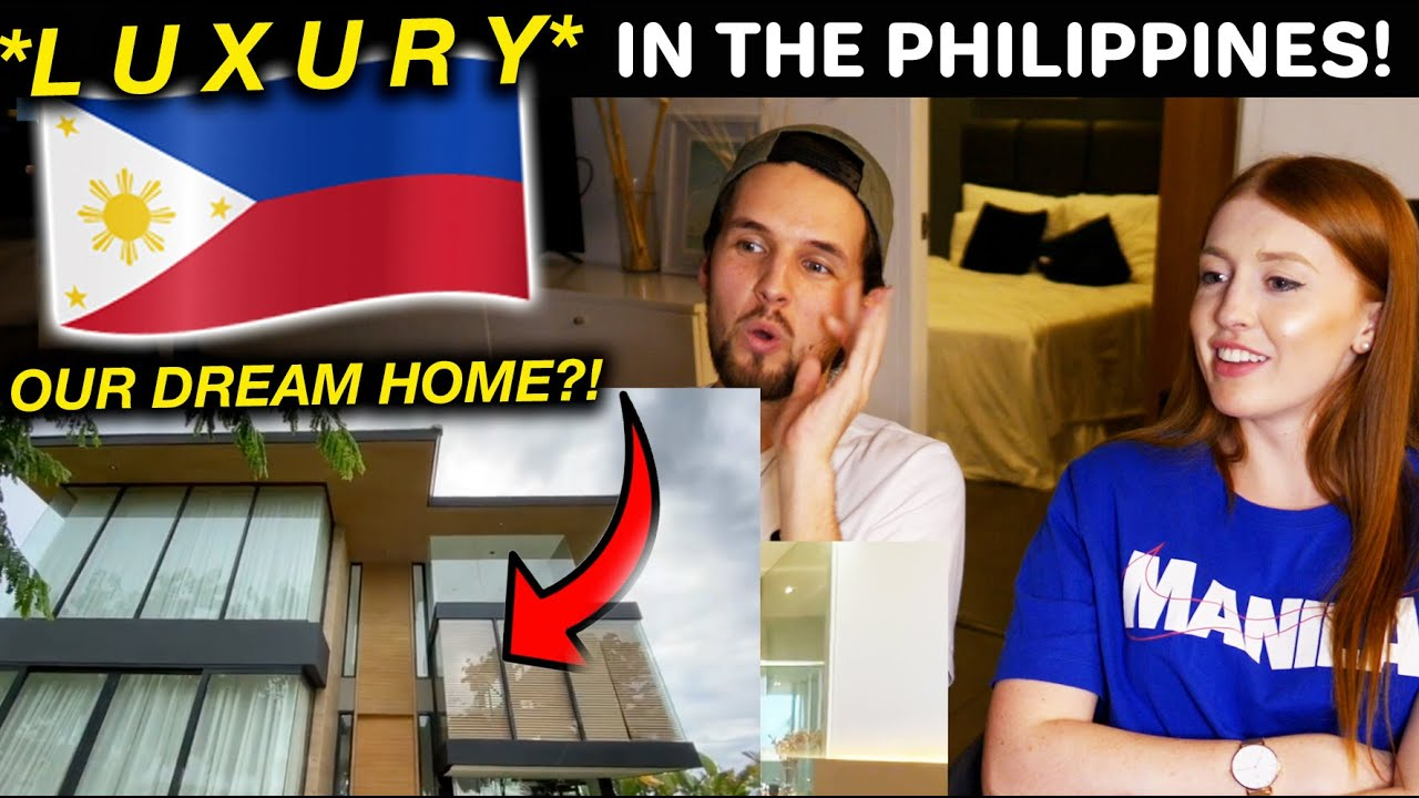 INSANE LUXURY Home in Alabang, Philippines! Reaction