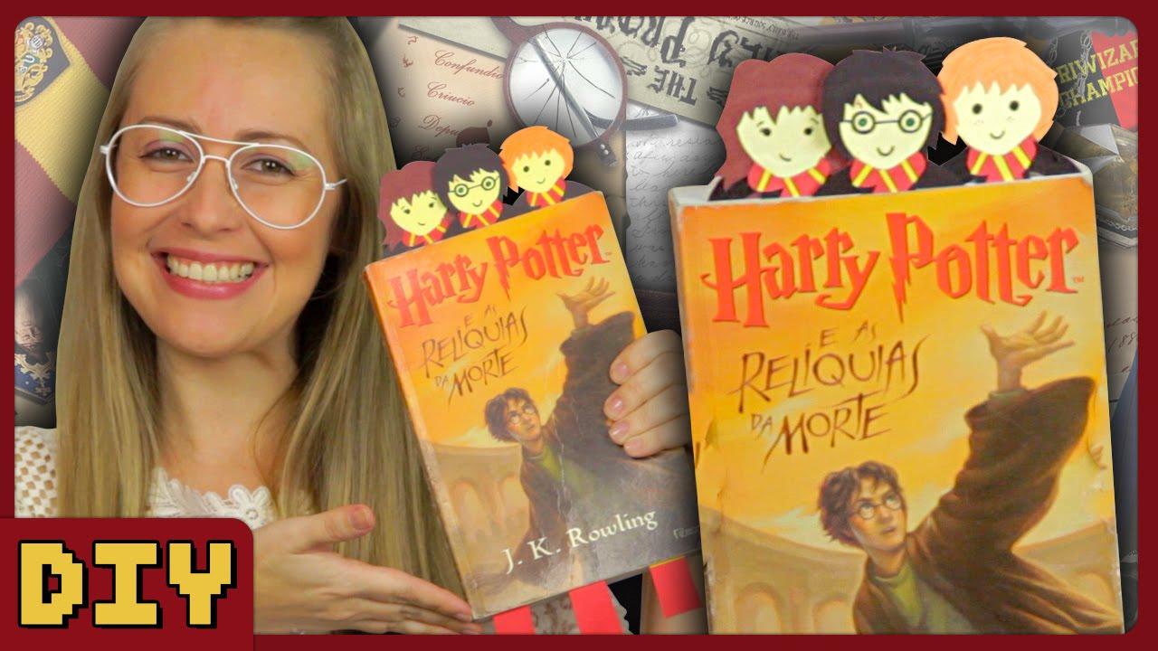 Marca Pagina Do Harry Potter Diy Geek Youtube
