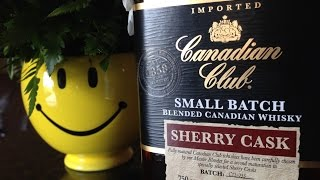 Canadian Club Sherry cask Tasting Review with the Whiskey Tasting Fellows