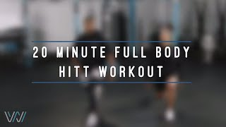 20-Minute HIIT Workout | doTERRA Wellness Wednesday with Tim Hightower