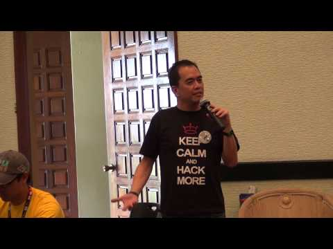 Bigas2 Hack: Smart's Jim Ayson welcomes Hackers to IRRI