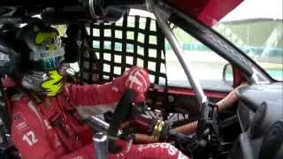 Hungary, Driving lesson with Rob Huff