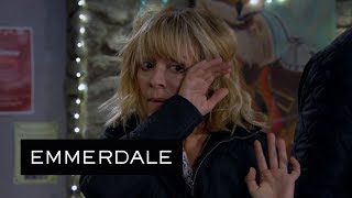 Emmerdale - Dawn Badly Hurts Rhona