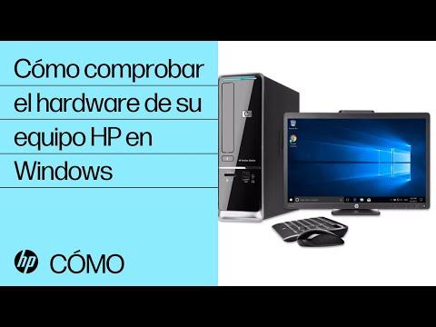 Cómo comprobar el hardware de su equipo HP en Windows   HP Computers   HP
