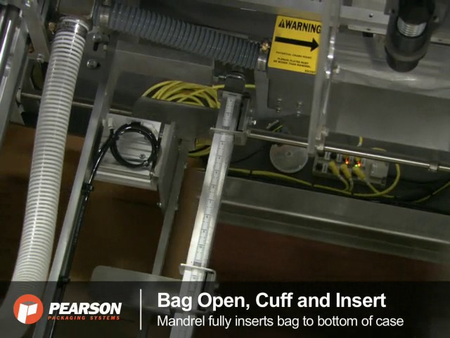 Pearson Packaging Systems - BI18 Bag Inserter