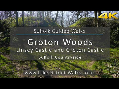 Suffolk Guided Walks: Lindsey Castle And Groton Castle