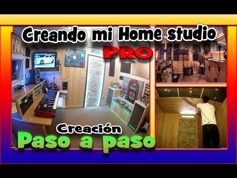 """Hacer mi Home Studio """"Pro"""" económico y efectivo. Estudio casero.Make home studio."""