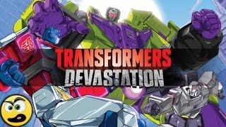 Transformers  Devastation PC Gameplay - com comentários