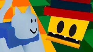 Побег ROBLOX. Кид стал котенком в РОБЛОКСЕ / Развлекательное видео для детей #КИД