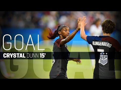 WNT vs. Costa Rica: Crystal Dunn Goal - July 22, 2016