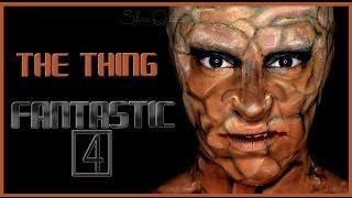 Tutorial Maquillaje La Mole  Los 4 fantásticos Makeup FX #98 | Silvia Quiros