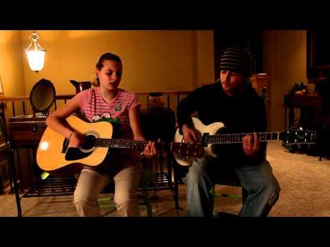 Sydney covers Justin Bieber 'U Smile' w Mike Binder