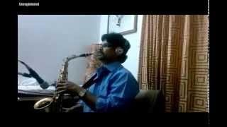 Ilayaraja tamil song instrumental sax ooru sanam thoongiduchi