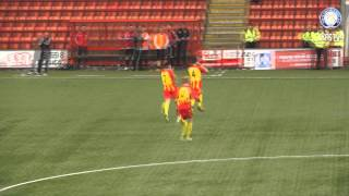 All the goals from the Scottish Youth FA Cup Finals