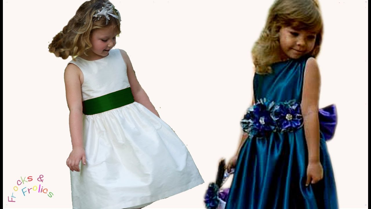 Sewing pattern flower girl dress how to sew a traditional 50s sewing pattern flower girl dress how to sew a traditional 50s style dress youtube ombrellifo Gallery