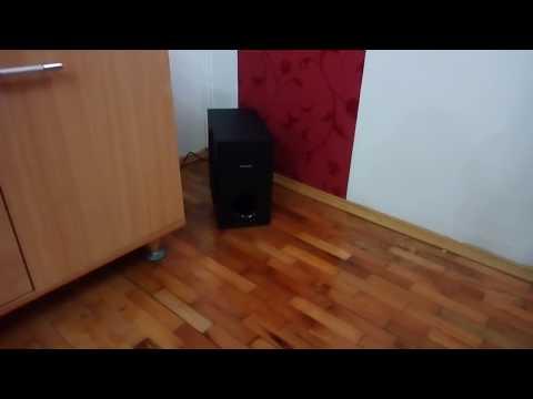 Philips HTL3160B SOUNDBAR sound test